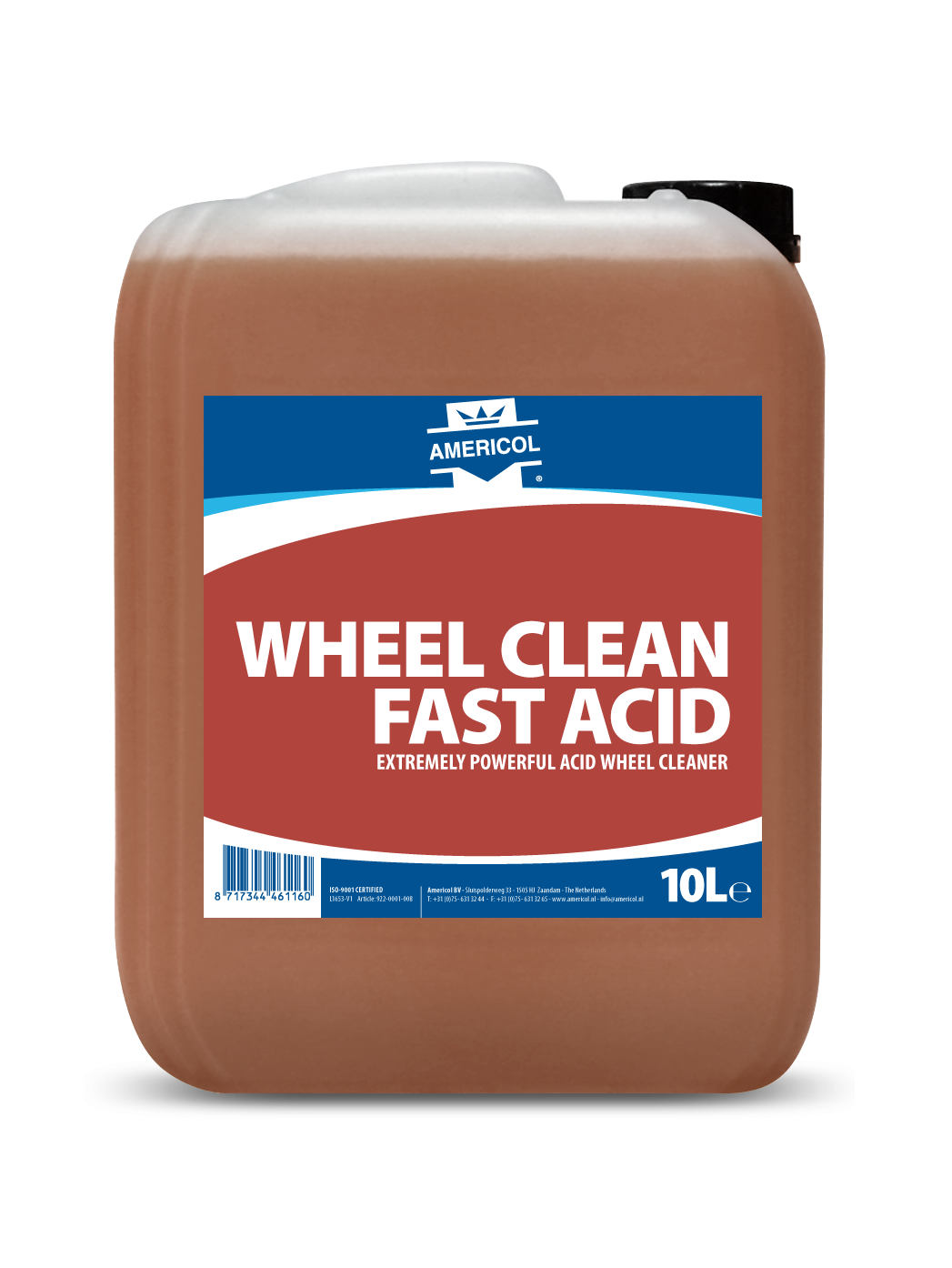 922 WHEEL CLEAN FAST ACID 10L