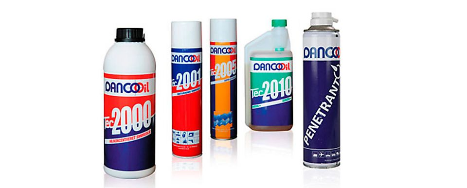 Danco Oil produkter olie
